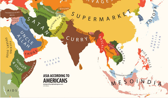 Maps Of The World According To Some Americans – Exploring North